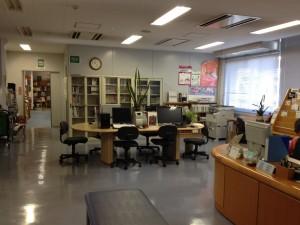 放射線医学総合研究所図書室